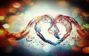 coeur-eau
